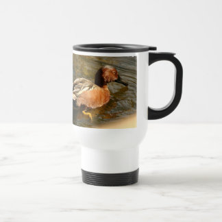 Cinnamon Teal Duck Mug