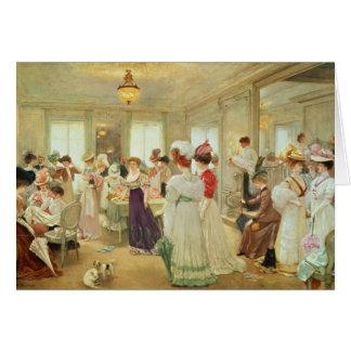 Cinq Heures chez le Couturier Paquin, 1906 Card