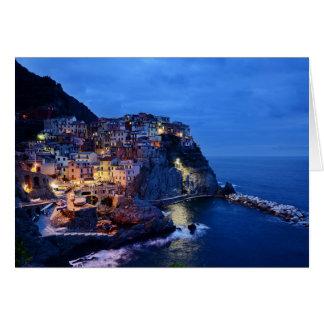 Cinque Terre, Italy Card