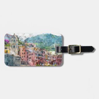 Cinque Terre Italy Luggage Tag