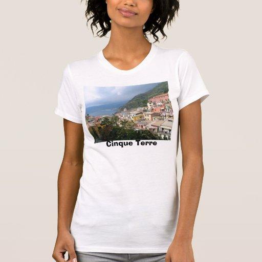 Cinque Terre Italy T Shirts
