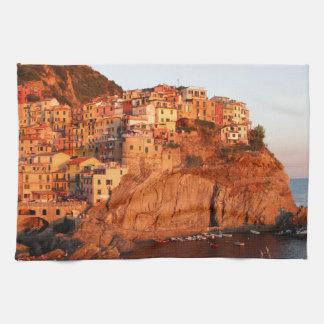Cinque Terre, Italy Tea Towel