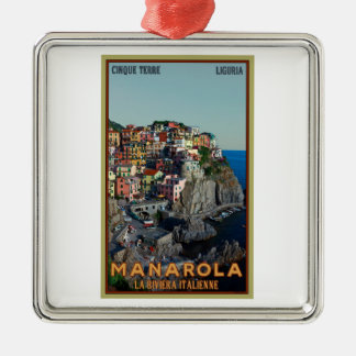 Cinque Terre - Manarola Christmas Ornament