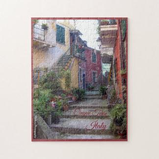 Cinque Terre (Monterosso Street) Jigsaw Puzzle
