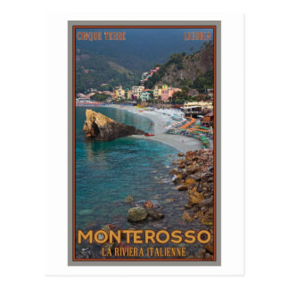 Cinque Terre - Morning Monterosso Beach Postcard