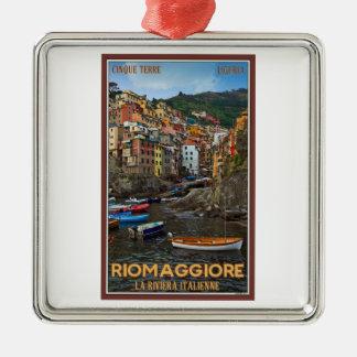 Cinque Terre - Riomaggiore Christmas Ornament