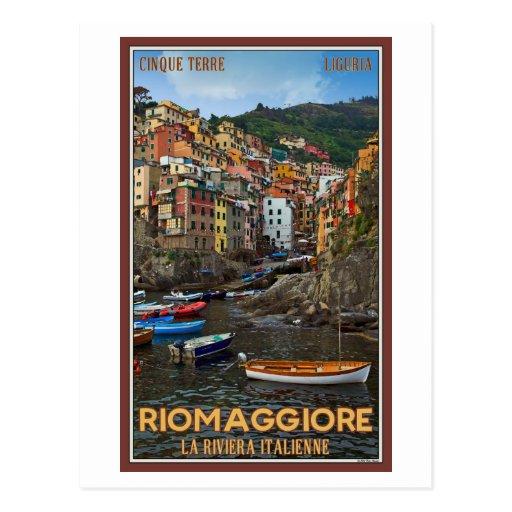 Cinque Terre - Riomaggiore Post Cards