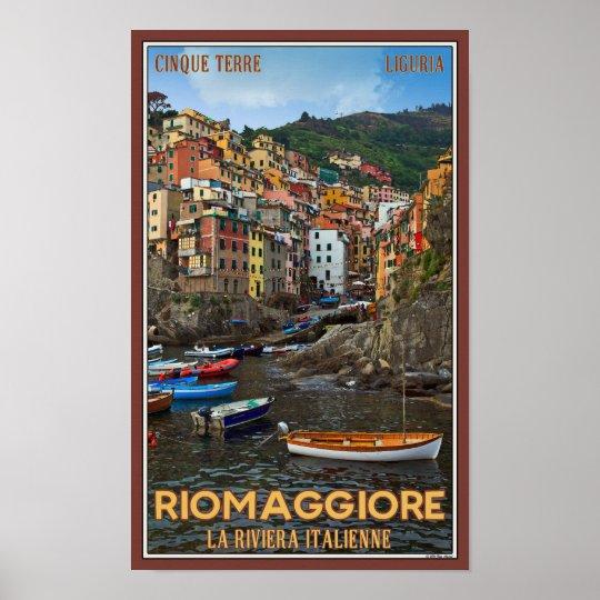 Cinque Terre - Riomaggiore Poster