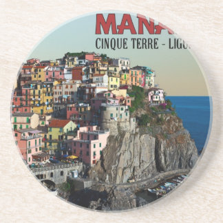 Cinque Terre - The Town of Manarola Coaster