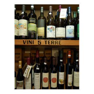 Cinque Terre Wines Italy Postcard