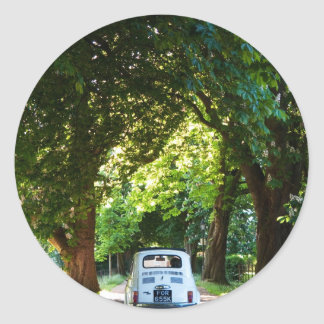 Cinquecento Fiat 500 Sticker