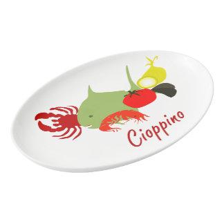 Cioppino Porcelain Serving Platter