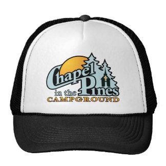 CIP Lt Blue Logo Mesh Hats