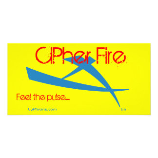 CiPher Fire Cypheron Photo Cards
