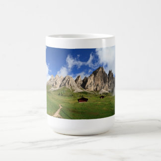 Cir Dolomites - Gardena pass Coffee Mug