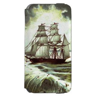 Circa 1880: A Christmas greetings card Incipio Watson™ iPhone 6 Wallet Case