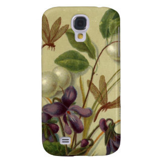 Circa 1881: Snowberries and violets Galaxy S4 Case