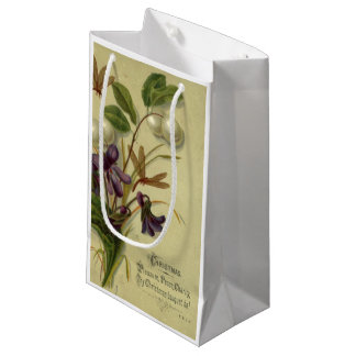 Circa 1881: Snowberries and violets Small Gift Bag