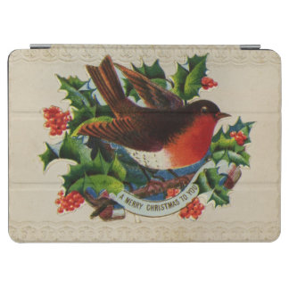 Circa 1900: A traditional Christmas robin iPad Air Cover