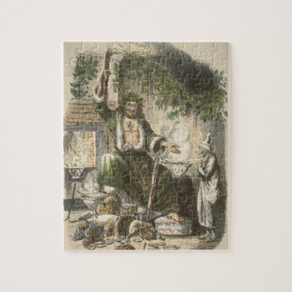 Circa 1900: The Ghost of Christmas Present Jigsaw Puzzle