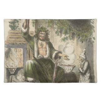 Circa 1900: The Ghost of Christmas Present Placemat