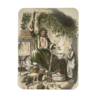 Circa 1900: The Ghost of Christmas Present Rectangular Photo Magnet