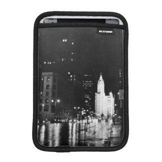 circa 1954:  A view down Michigan Avenue iPad Mini Sleeve