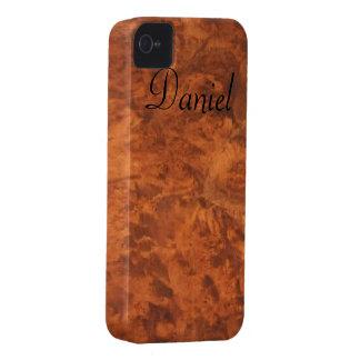 Circassian Walnut Burl iPhone 4 Case *personalize*
