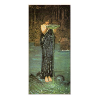 Circe Invidiosa by John William Waterhouse Poster