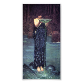 Circe Invidiosa - Circe with a Ponseive Bowl Photo Art
