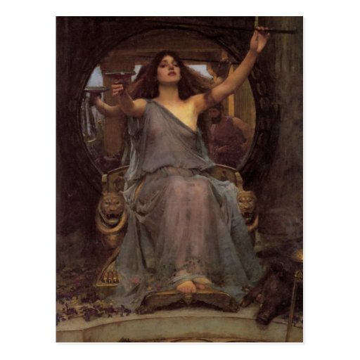 Circe Offering the Cup to Odysseus Post Card