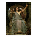 Circe Offering the Cup to Ulysses by JW Waterhouse Postcards