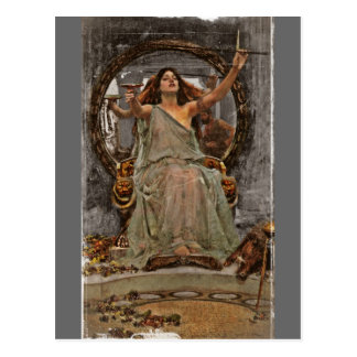 Circe Offers Cup to Ulysses Postcards