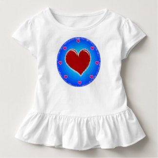 Circle and Heart Toddler T-Shirt