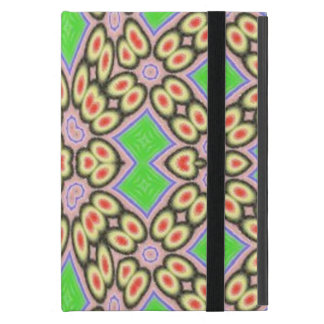 Circle and square pattern cover for iPad mini