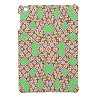 Circle and square pattern iPad mini cover