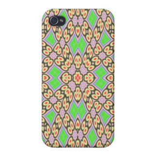 Circle and square pattern iPhone 4 cover