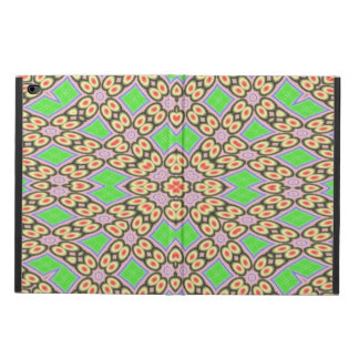 Circle and square pattern powis iPad air 2 case