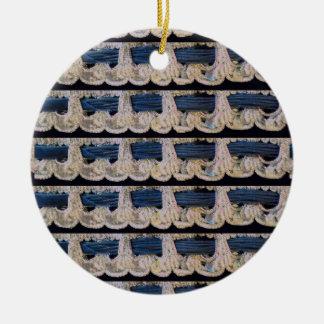 Circle Argento Christmas Ornament