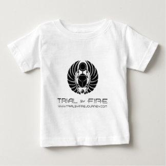 circle, band name, and website baby T-Shirt