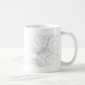 Circle Blob Design Coffee Mugs