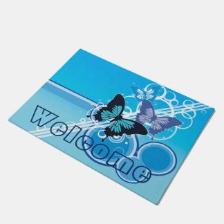 Circle Butterflies Doormat