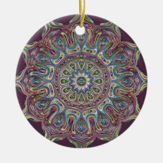 Circle  Ceramic Ornament Mandala