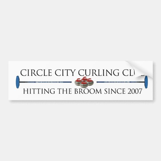 Circle City Curling - Bumper Sticker