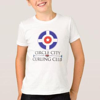 Circle City Curling - Kid's Ringer T-Shirt