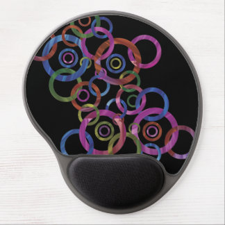 Circle Dance Gel Mouse Mat