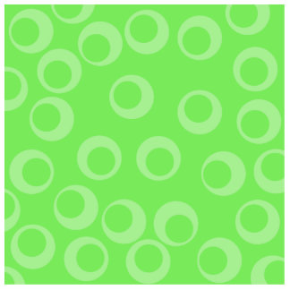 Circle design in green. Retro pattern. Standing Photo Sculpture