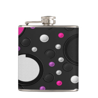 Circle Hip Flask