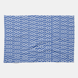 circle mosaic tea towel