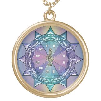 Circle of 5ths Music Mandala Necklace